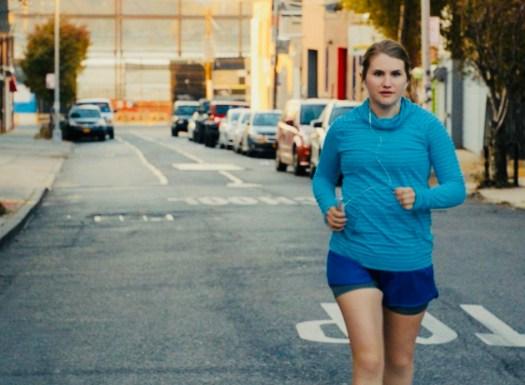 Brittany Runs a Marathon Running