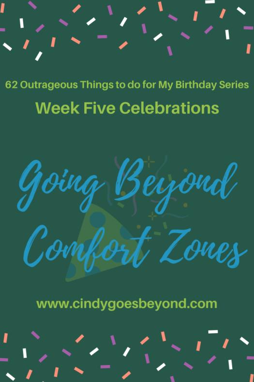 Going Beyond Comfort Zones title meme