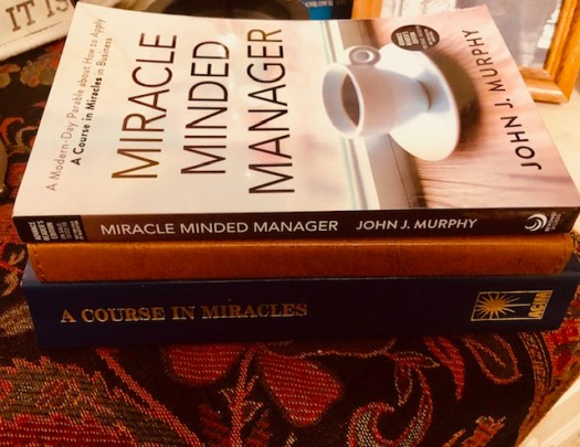 Miracle Minded Manager Stack of Books