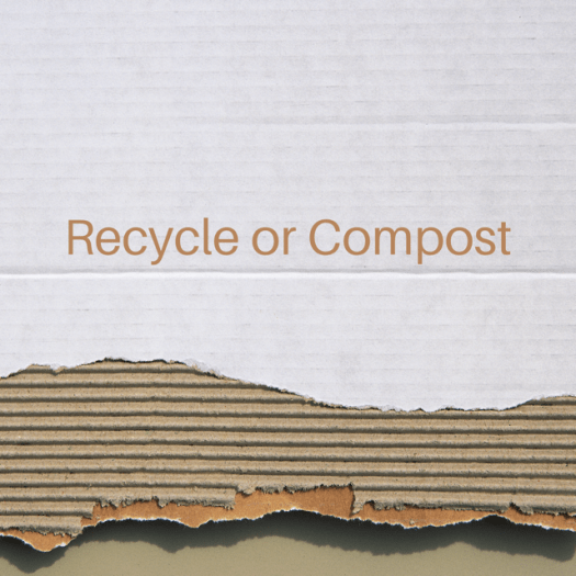 Recycle or Compost