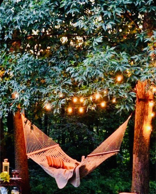 Create a Meditation Area for Your Garden hammock