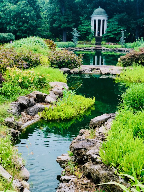 Philbrook Museum Gardens tempietto