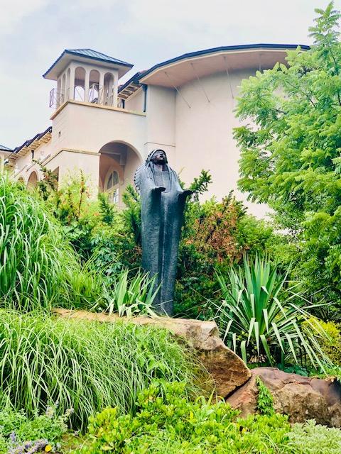 Philbrook Museum Gardens sculpture