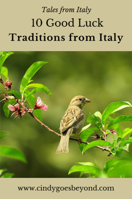 10 Good Luck Traditions from Italy title meme