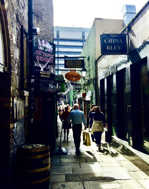 Explore Dublin's Temple Bar Area square