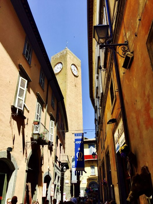 Fun Facts about Orvieto Italy clock tower