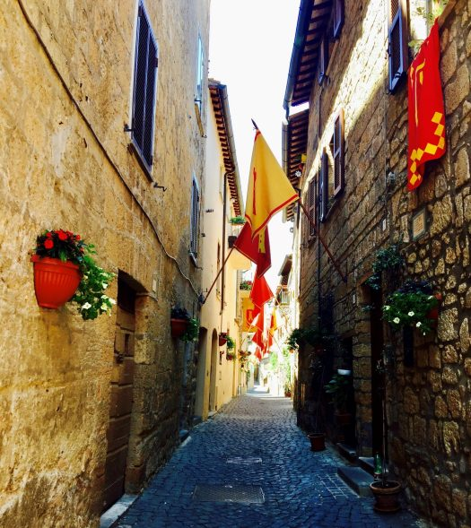 Fun Facts about Orvieto Italy street