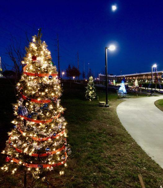 Holiday Flair Christmas Tree Trail
