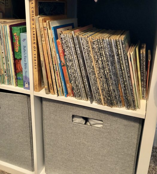 The Story Behind Little Golden Books bookcase