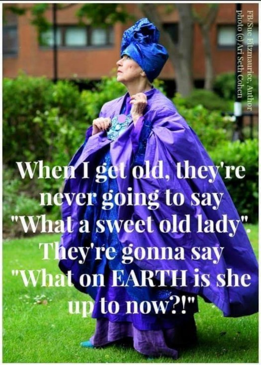 Spunky Old Broads Day purple