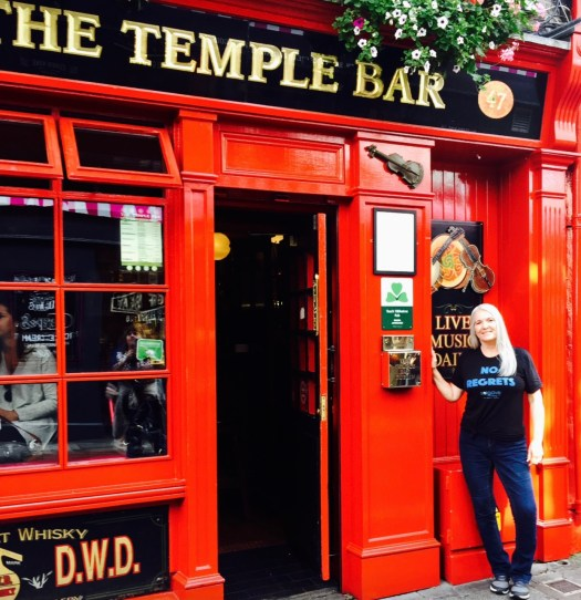 Travel Quotes for the Wanderer temple bar
