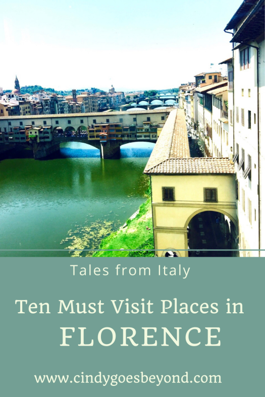 Ten Must Visit Places in Florence title meme
