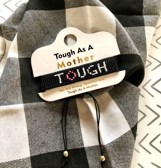 Tough as a Mother Jewelry bracelet