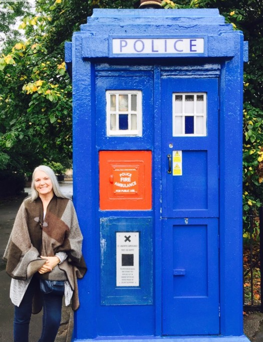 Top Ten Places to Visit in Glasgow police box
