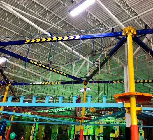 Urban Air Adventure Park ropes course