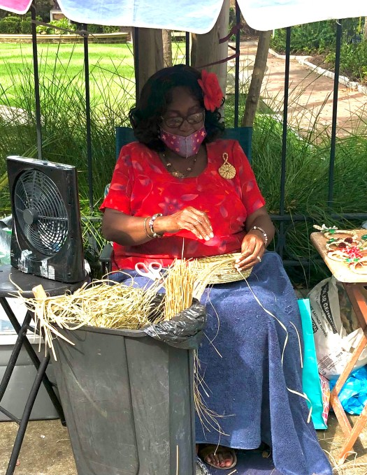 Historic Sites to See in Charleston sweetgrass baskets