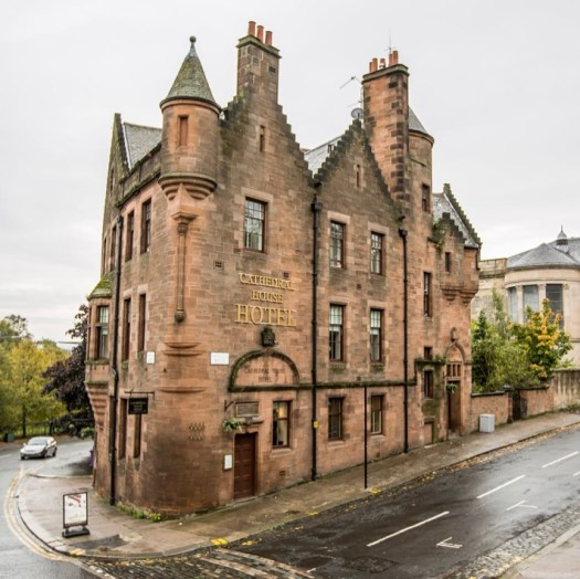 Ghost Stories from Glasgow cathedral house hotel