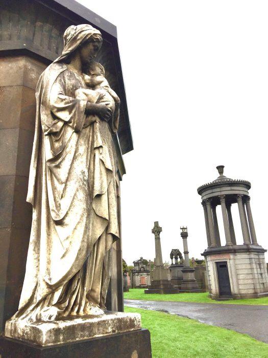Ghost Stories from Glasgow necropolis
