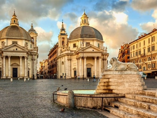 Ghost Stories from Rome piazza del popolo
