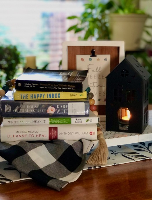 What I'm Reading Currently and Why stack