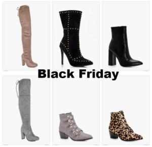 black friday chaussures boohoo