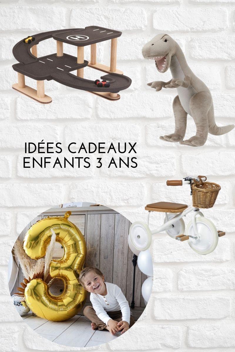 idées cadeaux enfant 3 ans jouets