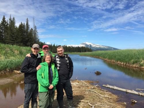 Grisdela Family at Lake Clark National Park, Alaska 2017