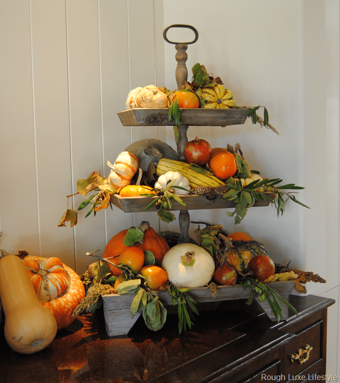Home Fall Decorating Ideas 2840: Berries And Branches Home Tour Fall Decorating Ideas