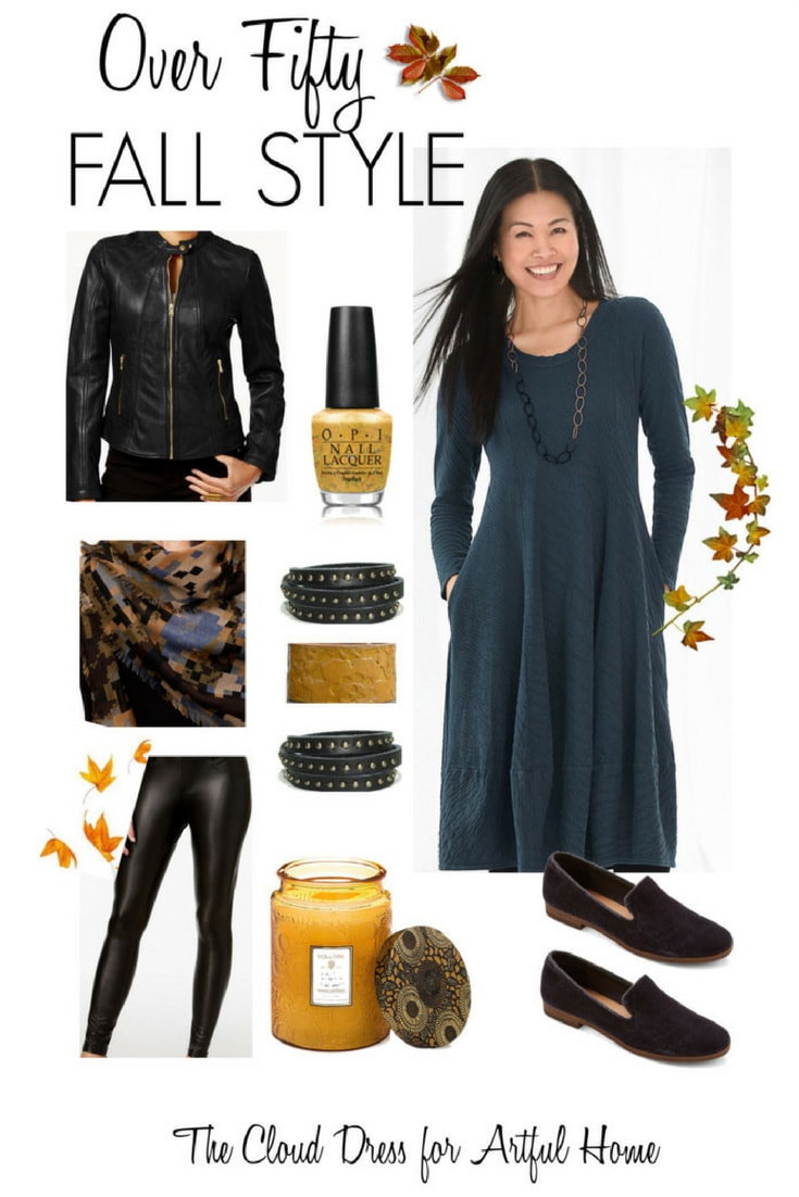 9f177d9ca16 Over 50 Fall Fashion featuring the Cloud Dress - Cindy Hattersley Design