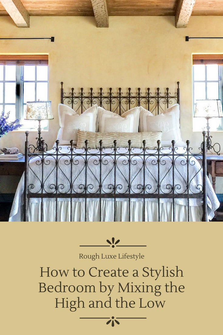 How to Mix the High and Low in Your Home Decor - Cindy Hattersley Design