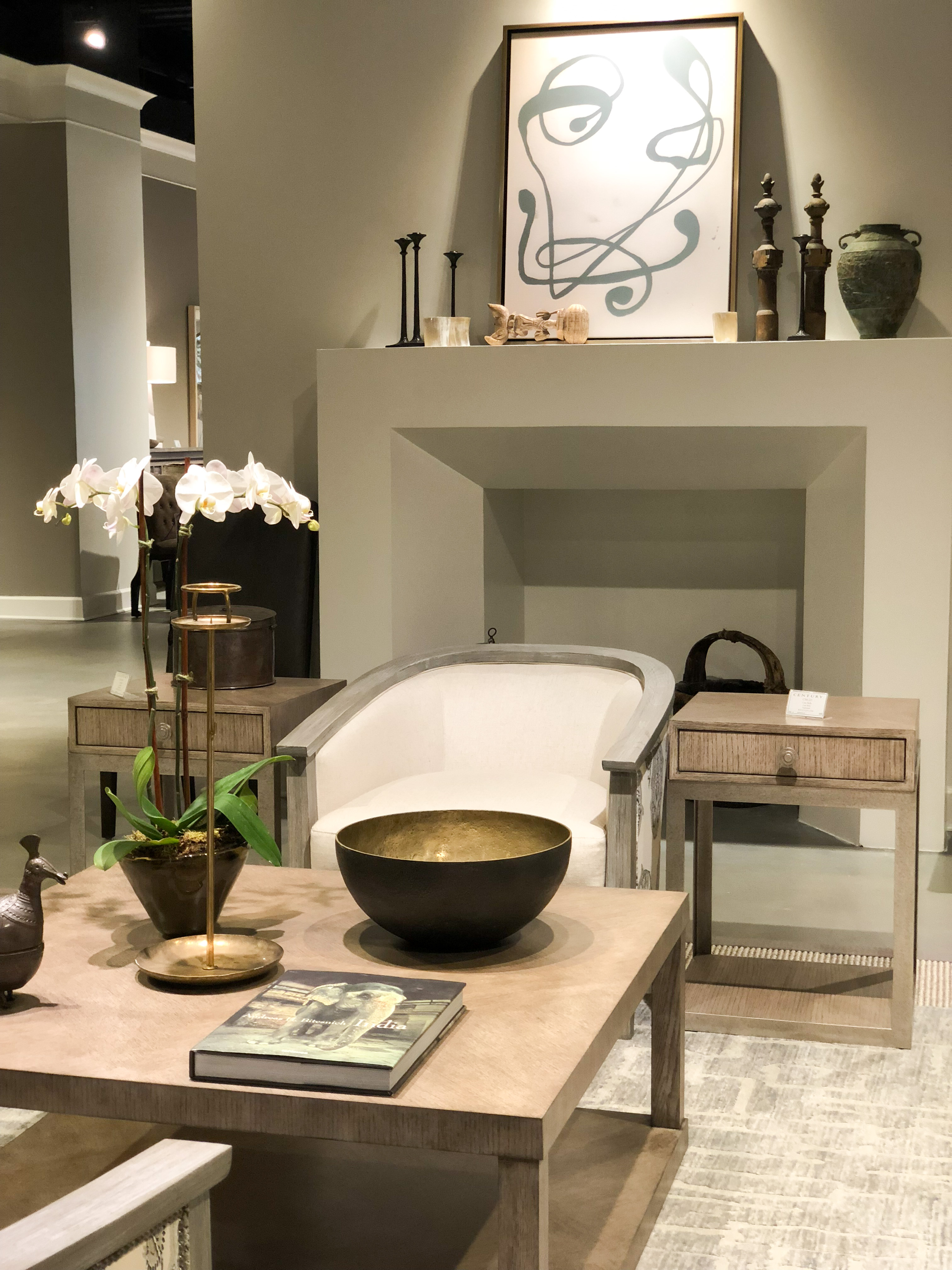 Exceptional The Bernhardt Showroom Was A Lesson In The Power Of Texture. Can I Tell You  How Much I LOVE This Console Table Vignette? I Will Take The Kai Ottomans  (two ...