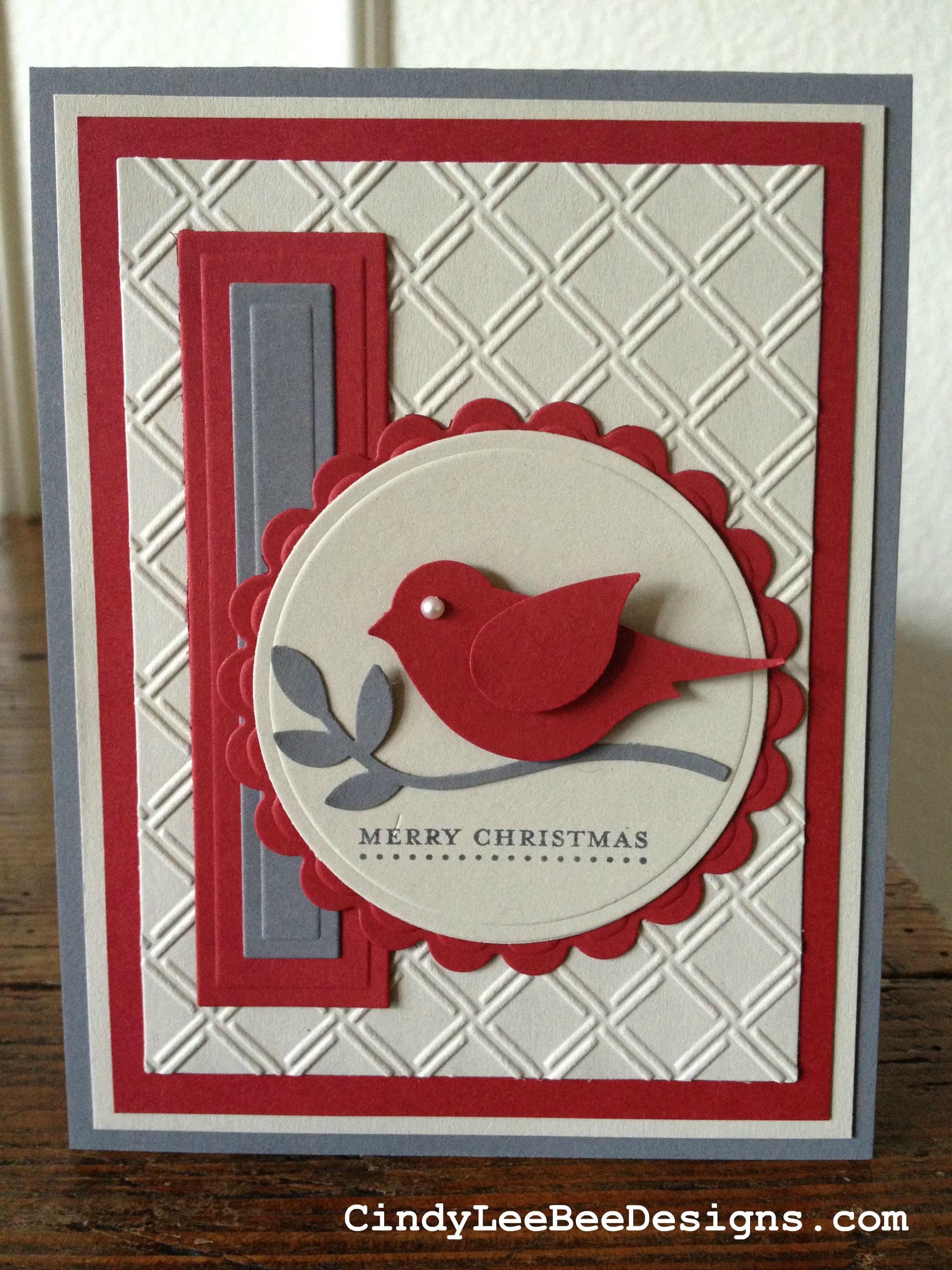 SU Bird Builder Punch Cindy Lee Bee Designs