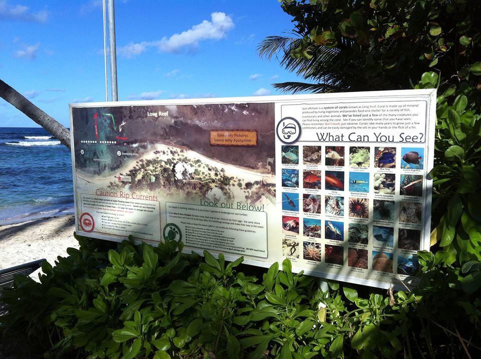 alms underwater wildlife signage