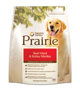 Recall: Nature's Variety Prairie Kibble for Dogs