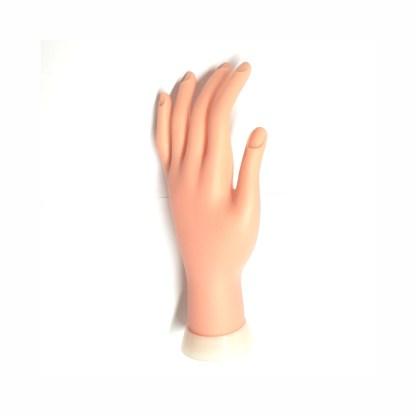 Nail Trainingshand Softgummi  biegbar 1