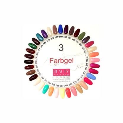 Farbgel Set 3, 36 Farben, 5g 1