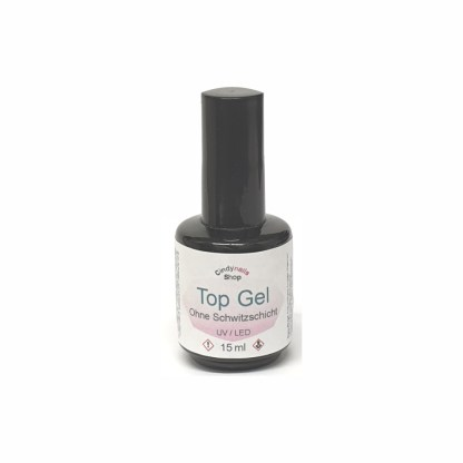 Top Coat Gel ohne Schwitzschicht 15ml 1