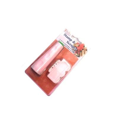 Scraper & Stempel Stamping Set 2 1