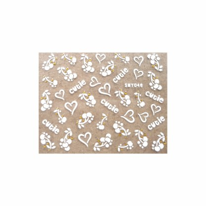 Nail Stickers N023 1