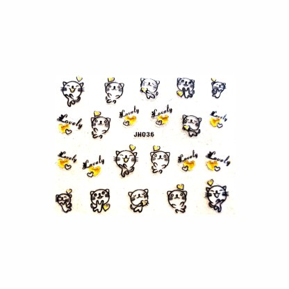 Nail Stickers N078 1