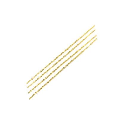 Nagelkette aus Metall Gold/Silber A20 1