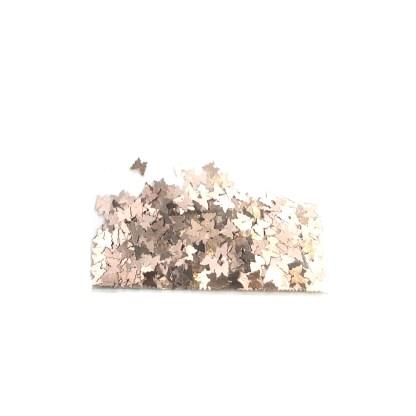 3D Schmetterling – Helle Gold - B25 1