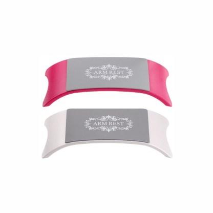 Handauflage Weiß/Pink 1