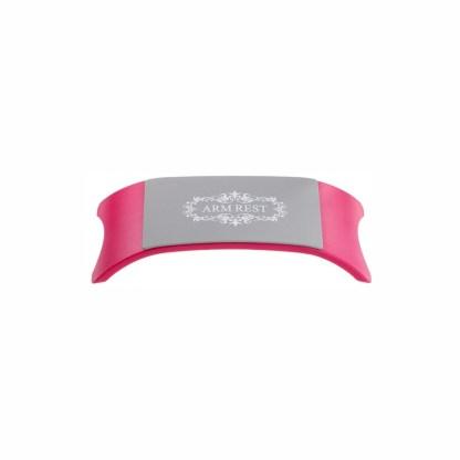 Handauflage Weiß/Pink 2