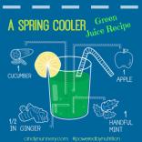 Spring Cooler Green Juice Recipe