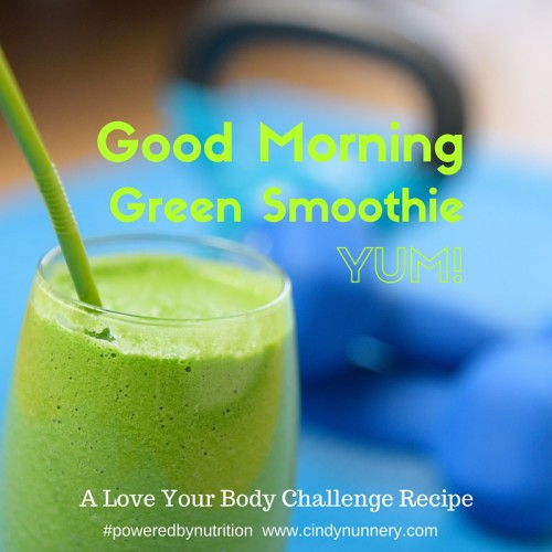 Good Morning Green Smoothie
