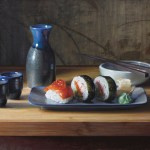 Sushi and Saki • Available at Hearle Gallery