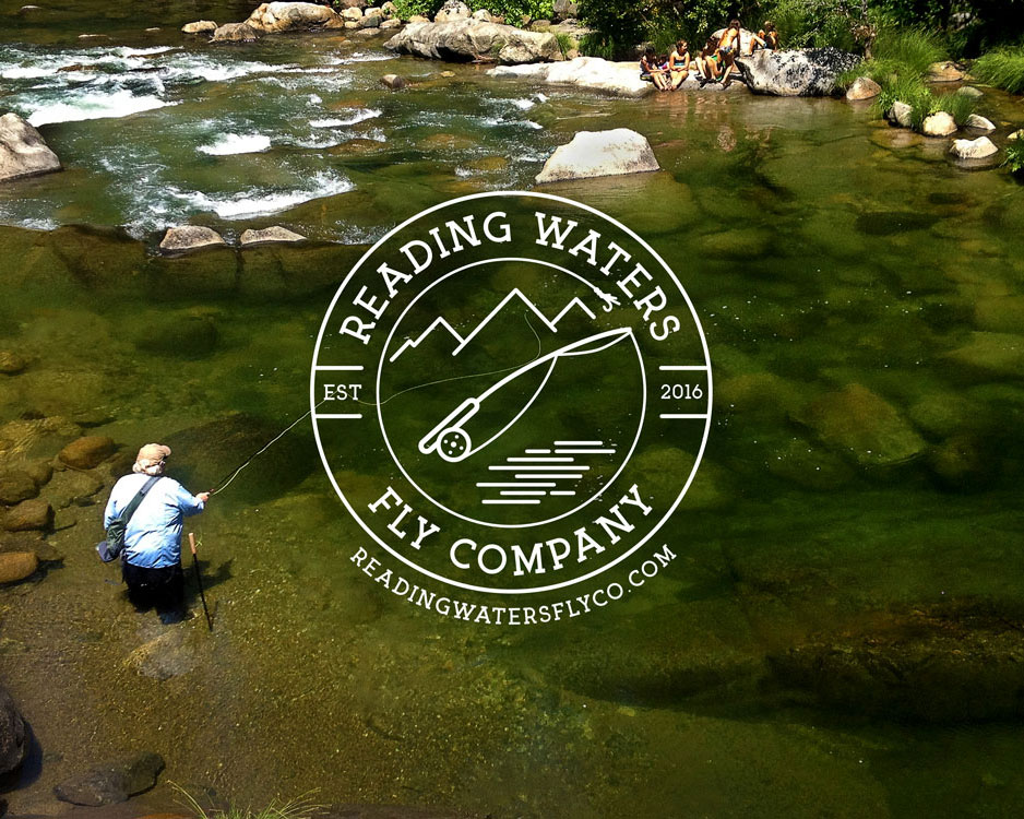 Reading Waters Fly Fishing Logo