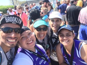 Awesome running friends at last year's Brooklyn Half
