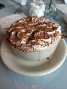 You can't go wrong with Nutella hot chocolate